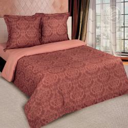 """Купить постельное белье поплин гладкокрашеный """"Византия коричневая"""" {citys}"""