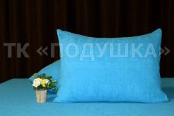 Купить голубые махровые наволочки на молнии в Тольятти