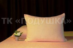 Купить персиковые махровые наволочки на молнии в Тольятти