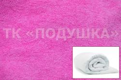 Купить розовый махровый пододеяльник  ТМ Подушка в Тольятти