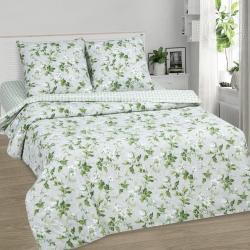 """Купить постельное белье из поплина """"Белый сад""""  в Тольятти"""